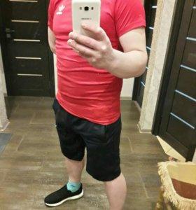 Новый костюм Футболка + шорты Adidas