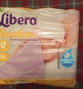 Подгузники Libero newborn 24 шт.
