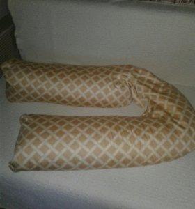 Подушка для беременных и для кормления малвша