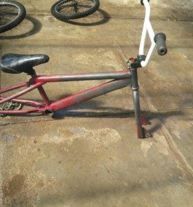 BMX на запчасти
