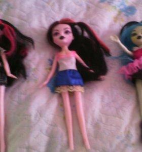 Куклы поделки монстер хай