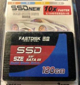 SSD 120Gb новый!