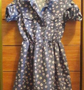 Новое Платье- рубашка