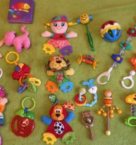 Пакет игрушек 0+ Tiny Love, Pigeon, Fisher Price