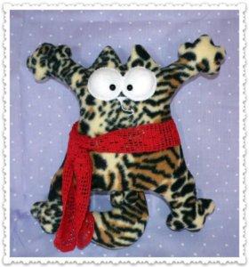 Кот Саймона с шарфом