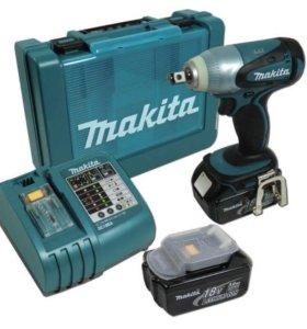 Ударный гайковерт Makita BTW251rfe аккумуляторный
