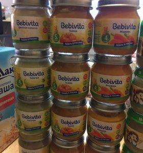 Bebivita пюре овощные