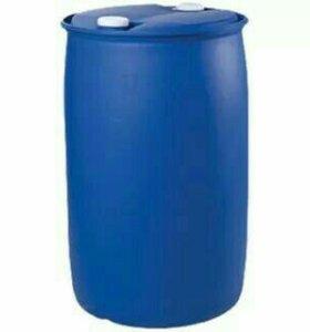 Бочка 220 литров пластик