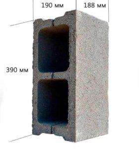 Блоки 2х стеновые.