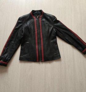 Куртка натуральная кожаная подойдёт и на 44-46 р