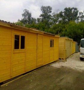 Бытовка,две комнаты,доставка и установка