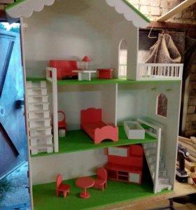 Бизиборд,кукольные домики,стоянки,бизикубы на зака