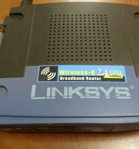 Маршрутизатор WI-FI роутер linksys WRT54GL