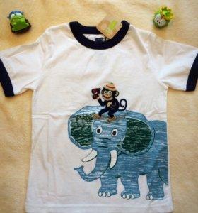Новые американские футболки на мальчика (р.5Т)