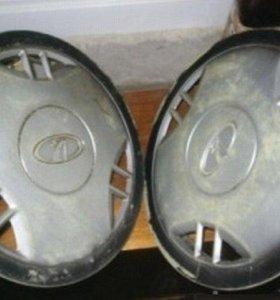 Родные колпаки на диски 2109