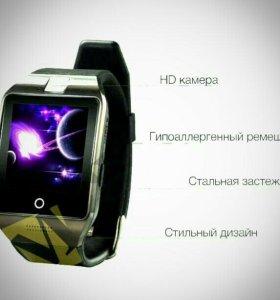 Эргономичные умные часы Q18s