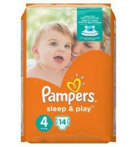 Подгузники Pampers Sleep&Play 4 (8-14 кг)