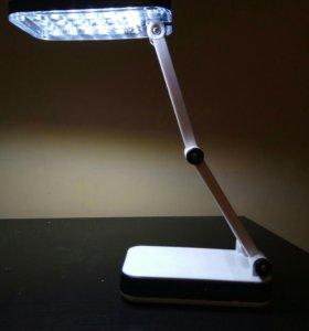 Лампа-светодиодная, на аккумуляторе .