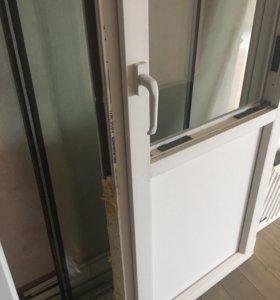 Стеклопакет ( окно) и балконная дверь