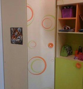 Детский угловой шкаф, торг