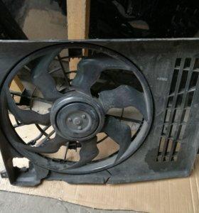 Hyundai ix35 диффузор с мотором