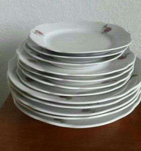 Набор тарелок Дулево
