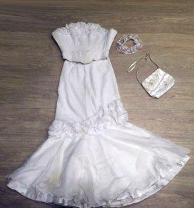 Платье свадебное б/у