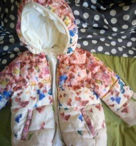 Куртка Zara к отличном состояние