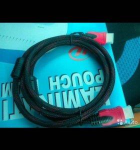Шнур hdmi-hdmi подключение тв, приставок, проектор