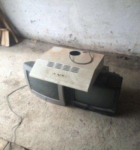 Телевизоры и вытяжка