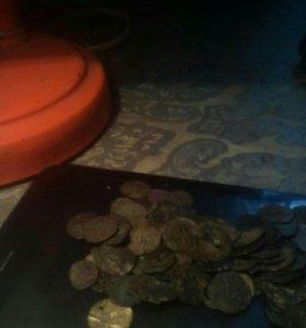 Монеты династии Гареев чешуйки