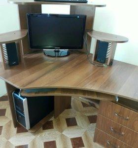 Компиютер +стол