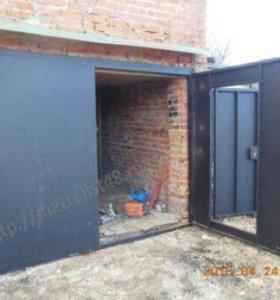 Изготавливаем гаражные ворота