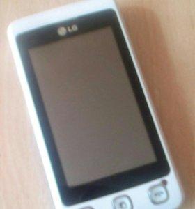 Телефон LG на запчасти (может работает)