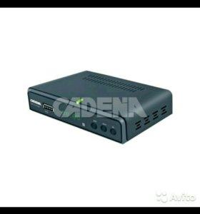 Цифровая ТВ приставка CADENA CDT 1711SB (DVB-T2)