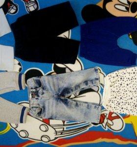 Джинсы, штаны, брючки детские