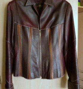 Жакет-куртка женская из натуральной кожи