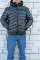 Куртки мужские на холлофайбере