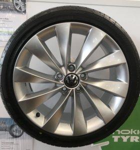 Комплект из 5 колёс Interlagos 235/40 R18
