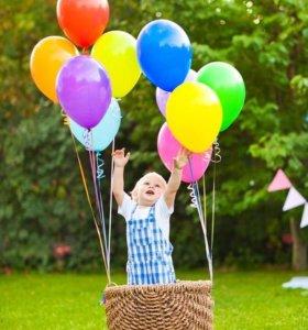 Гелиевые светящиеся воздушные шары
