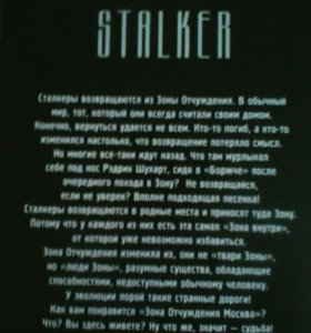 """Сталкер """"Тебя здесь не ждут, СТАЛКЕР!"""""""
