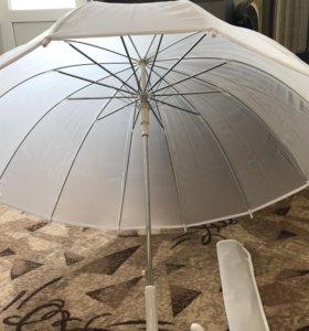 Зонт свадебный или для фотосессии