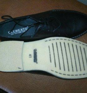 Туфли мужские. Новые. Мягкая натуральная кожа
