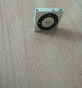 Плеер Apple iPod Shuffle 4 Silver
