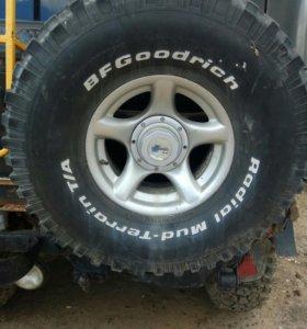 Комплект 5 шт колес уаз