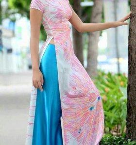 Вьетнамское платье-аозай