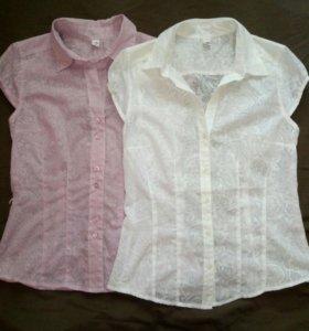 Блузки Рубашки 300р за 3 шт