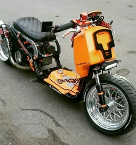 Кастом скутер Honda Ruckus