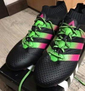 Бутсы Adidas ACE 16.1 Primeknit AQ2543