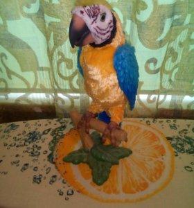 Попугай игрушка говорящий
